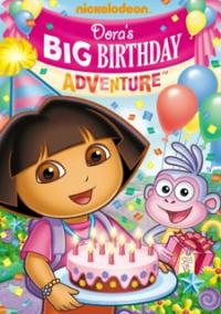 Dora the Explorer: Dora's Big Birthday Adventure – фото обложки игры