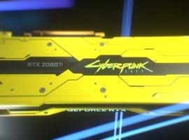 Nvidia иCDProjekt RED представили видеокарту GeForce RTX 2080 TiCyberpunk 2077 Edition
