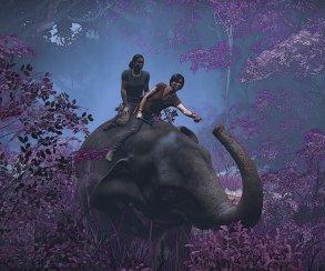 Как слоновья задница почти помешала созданию одной излучших сцен Uncharted: The Lost Legacy