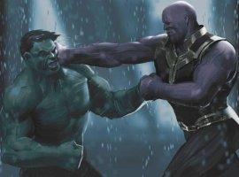 Гифка дня: Халк против (или все-таки за?) Таноса вGrand Theft Auto V