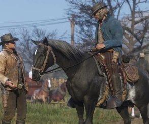 Гифка дня: далеко нелучший день главного героя Red Dead Redemption2