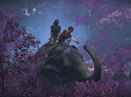 Как слоновья задница чутьли непомешала созданию одной излучших сцен Uncharted: The Lost Legacy