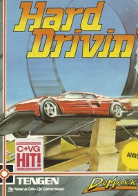 Hard Drivin' – фото обложки игры