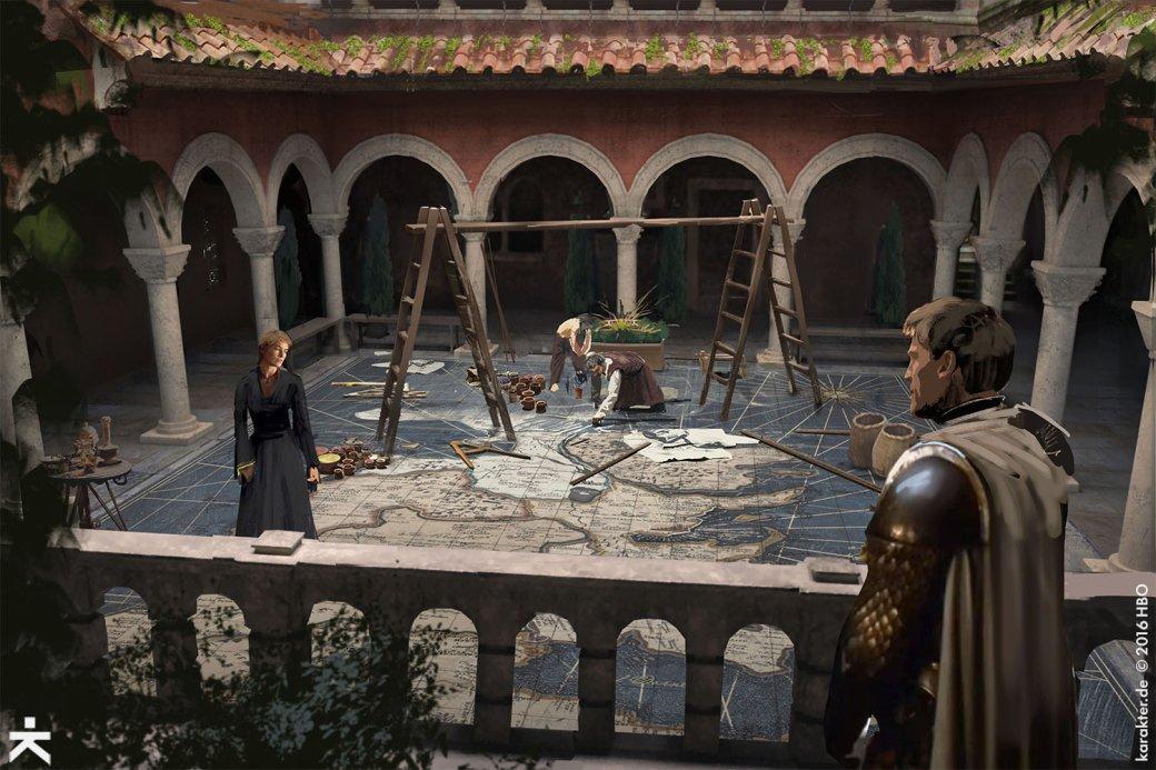 Взгляните напотрясающие концепт-арты 7 сезона «Игры престолов». - Изображение 11