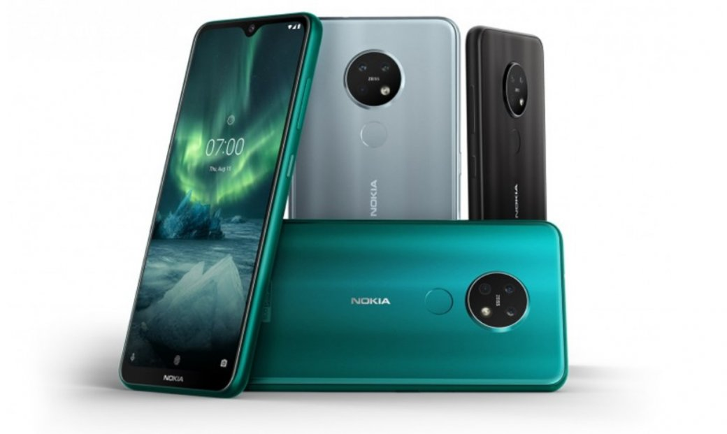 Представлены Nokia 6.2 иNokia 7.2: среднебюджетный дуэт стройными камерами | Канобу - Изображение 1