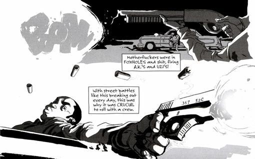 Комиксы: Sentences: The Life Of MF Grimm | Канобу - Изображение 5