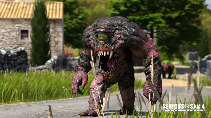 СЕМЕЧКИ на новых скриншотах Serious Sam 4: Planet Badass. Сэм заглянет в наши края?. - Изображение 5