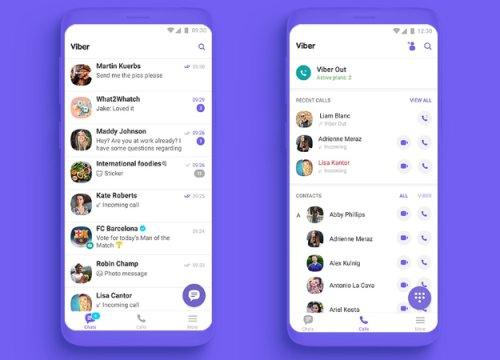 Мессенджер Viber получил новые функции иполноценный редизайн