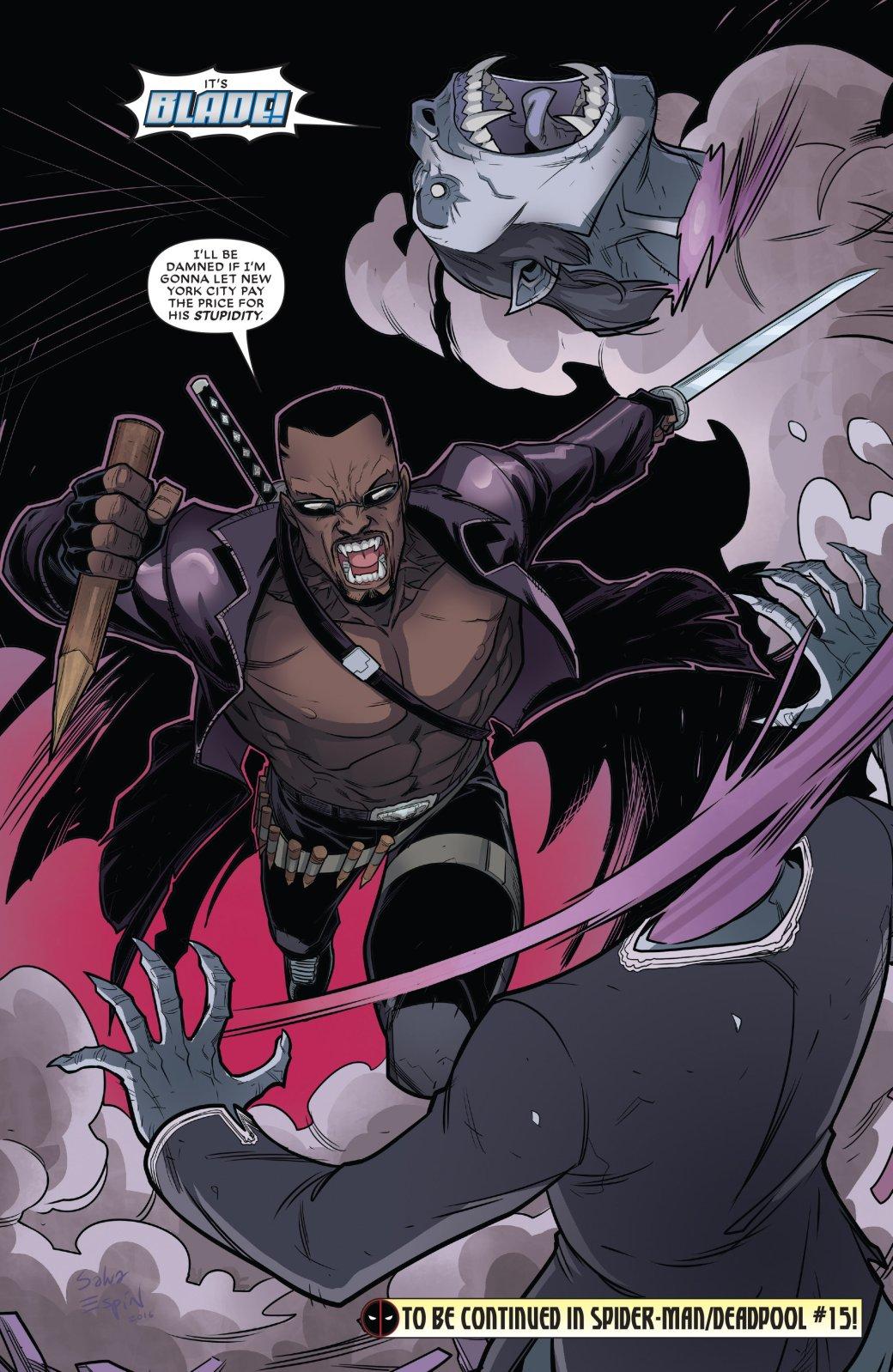 Кто такой Блэйд? Отохотника навампиров дочлена Мстителей исоюзника Людей Икс | Канобу - Изображение 150