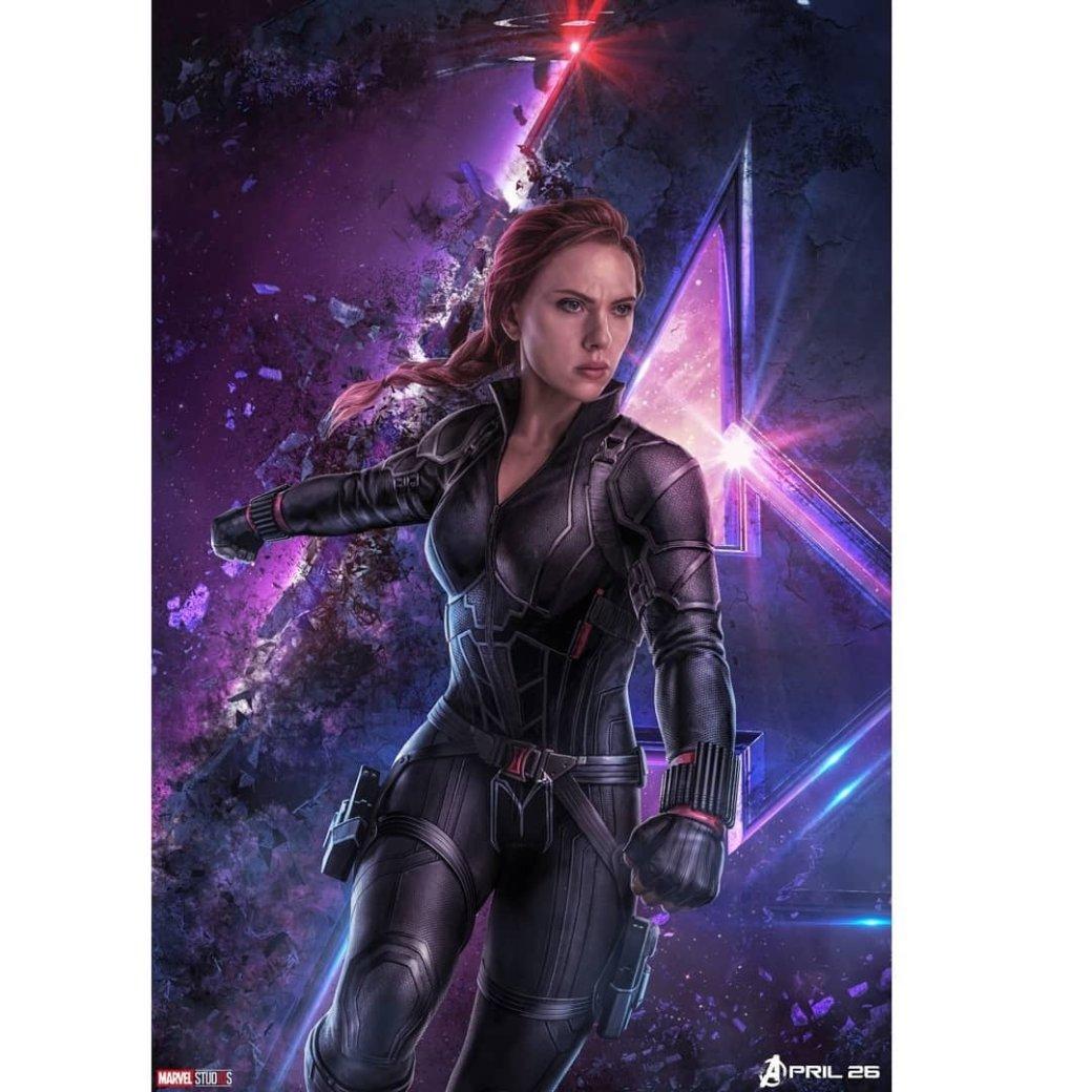 Очень много новых промо-артов по«Мстителям: Финал» (есть даже сновой броней Таноса!)   Канобу - Изображение 6366