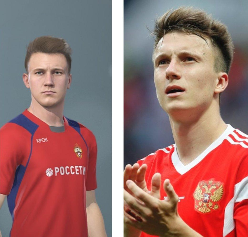 Сравнение лучших футболистов и их виртуальных версий из PES 2019. - Изображение 20