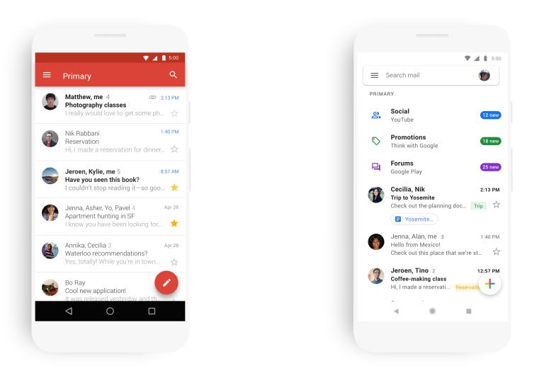 Google обновила дизайн почтового клиента Gmail наAndroid иiOS | Канобу - Изображение 385