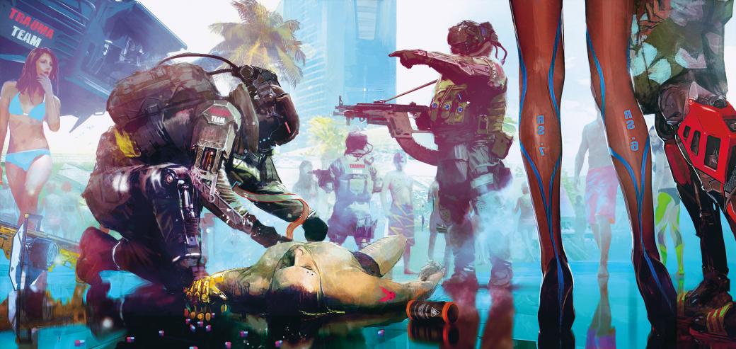 Однополая любовь, слоу-мо имотоциклы— новые подробности Cyberpunk 2077. - Изображение 1
