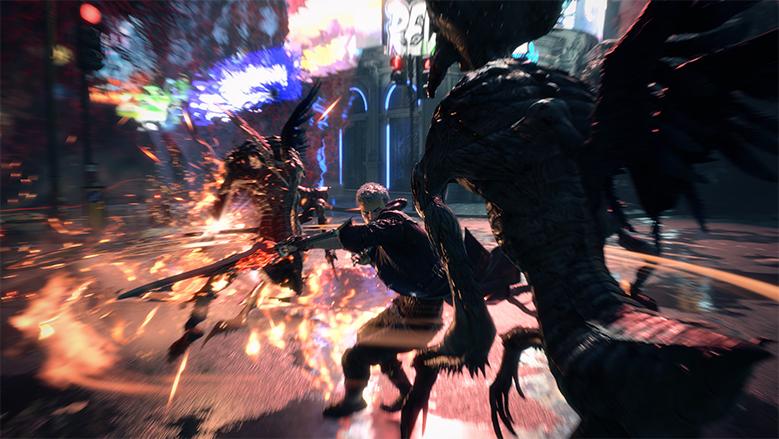 Бэнг-бэнг-бэнг: в Сети появились 15 минут геймплея Devil May Cry 5! | Канобу - Изображение 7282