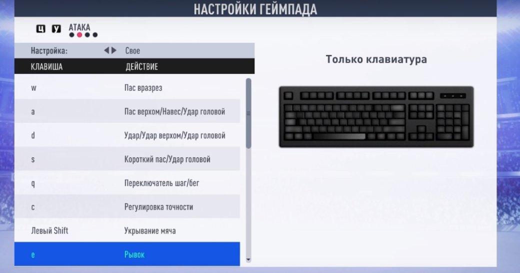Настройки управления на клавиатуре в FIFA 19: как пробивать и отбивать пенальти | Канобу - Изображение 13123