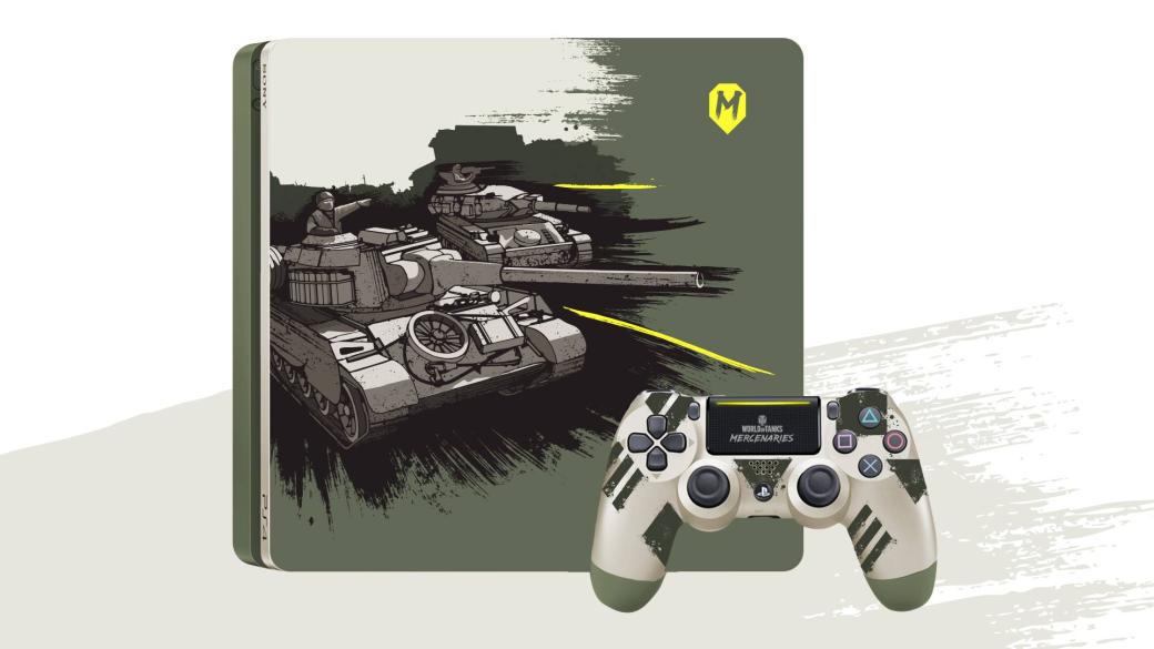 «Канобу» дарит брендированную PS4 зрителю стрима по World of Tanks: Mercenaries (итоги) | Канобу - Изображение 1