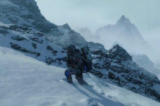 Фанат построил вDeath Stranding горнолыжный курорт для веселья итрюков