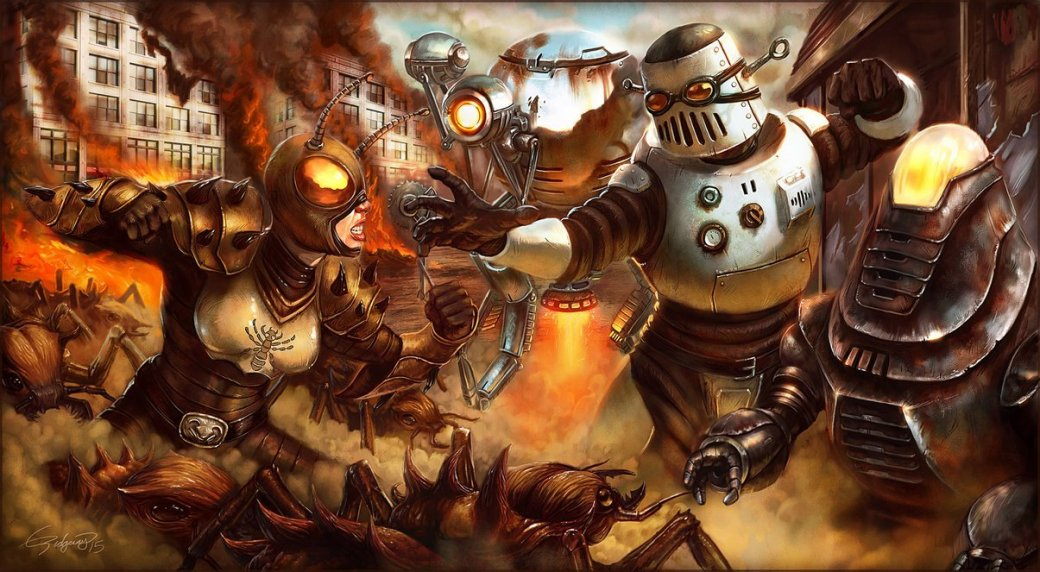 Лучший арт мира Fallout | Канобу - Изображение 96