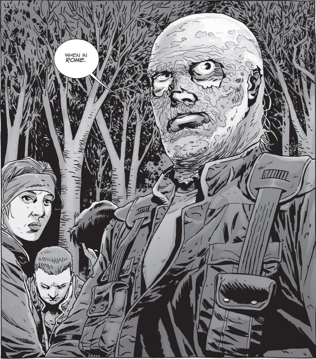 Война с Шепчущимися в комиксе The Walking Dead не оправдала ожиданий | Канобу - Изображение 16
