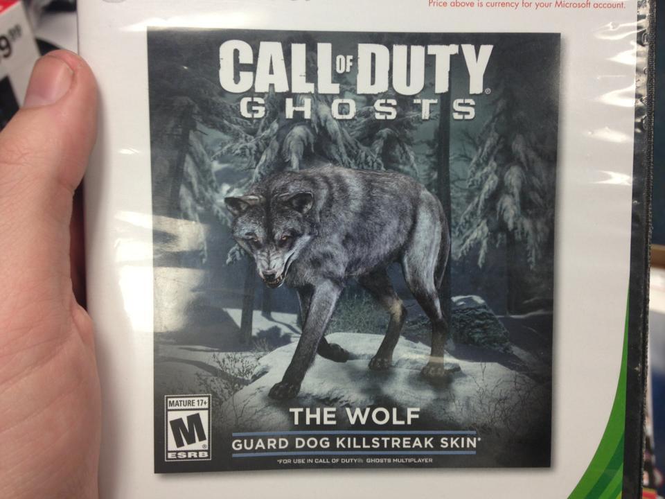 В сетевой режим Call of Duty: Ghosts придет белый волк   Канобу - Изображение 4382