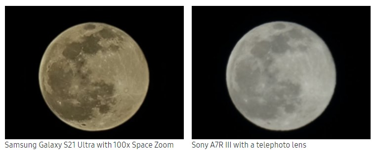 НаSamsung Galaxy S21 Ultra насамом деле можно снять Луну | Канобу - Изображение 13340