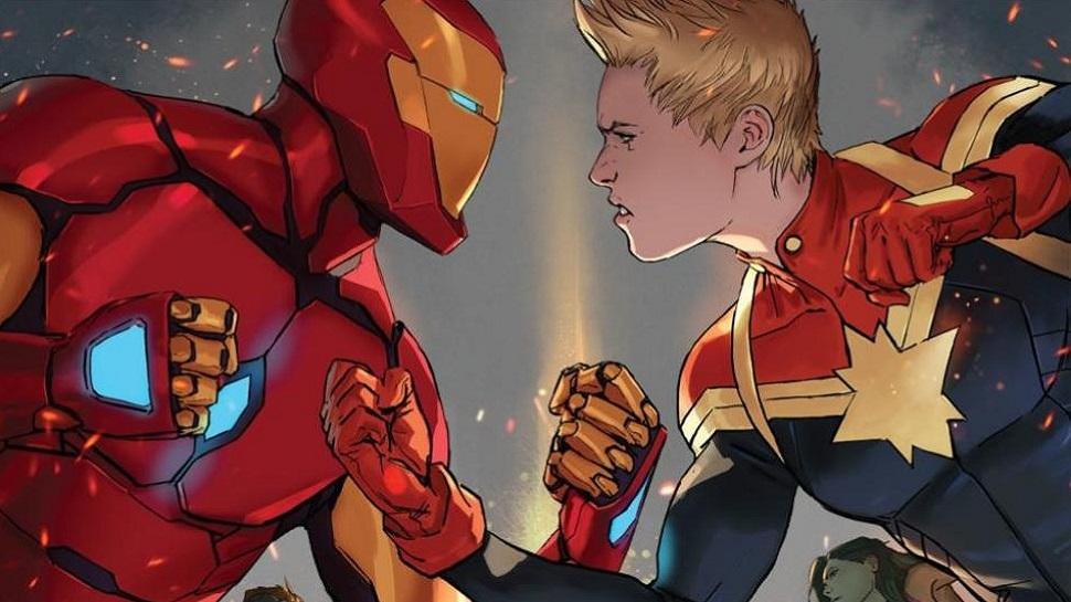Умная фанатская теория предполагает, что Тони Старк уже знает осуществовании Капитана Марвел в MCU | Канобу - Изображение 589