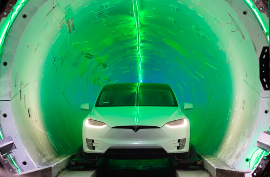 Илон Маск представил скоростной тоннель под Лос-Анджелесом. Для теста использовали Tesla Model X | Канобу - Изображение 1