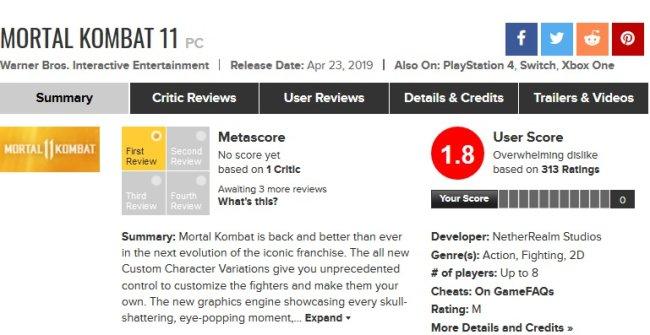 Стоит ли играть в Mortal Kombat 11?. - Изображение 1