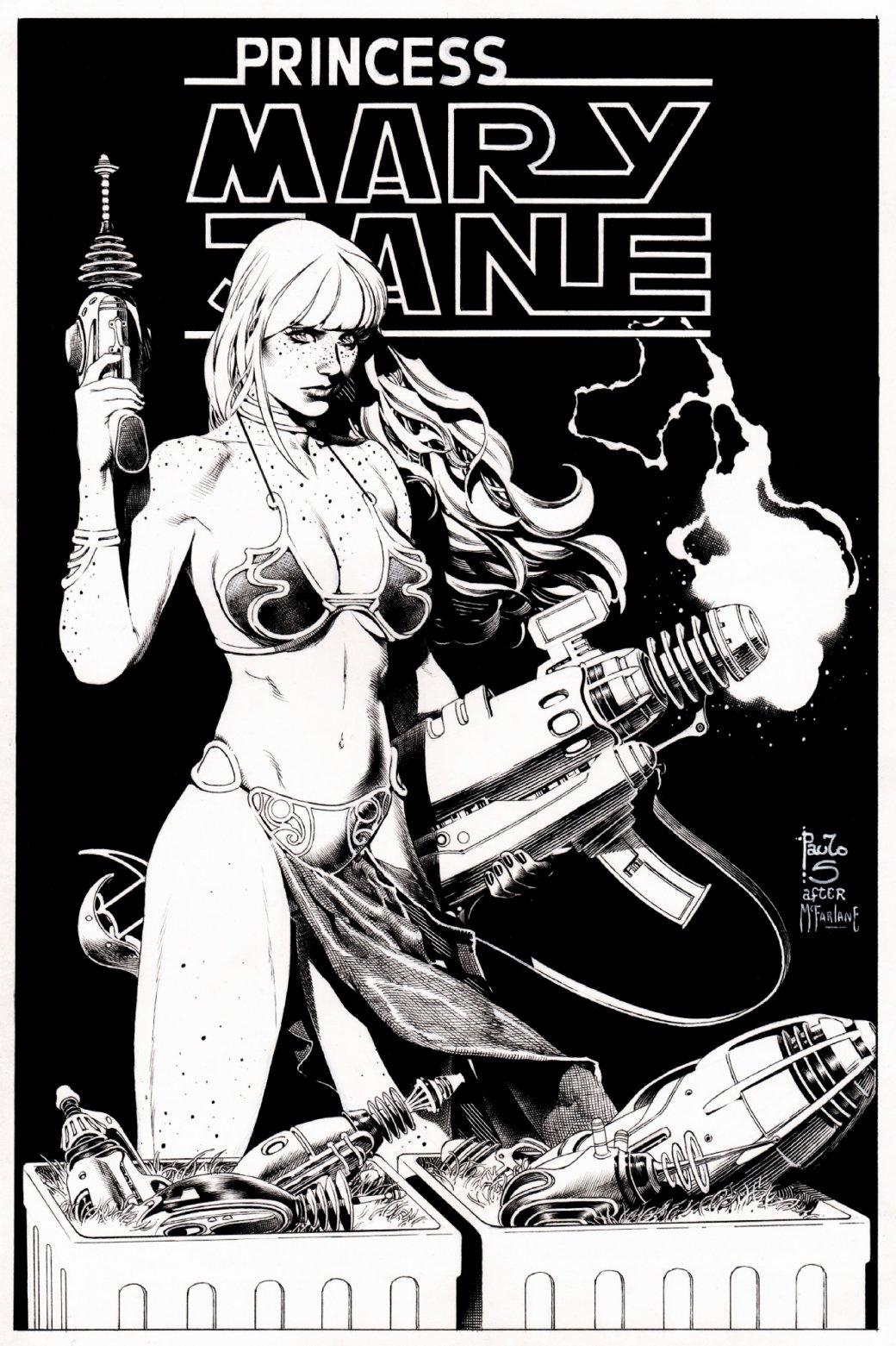Всети появилась неиспользованная обложка комикса о Мэри Джейн с отсылкой к«Звездным войнам»   Канобу - Изображение 8343