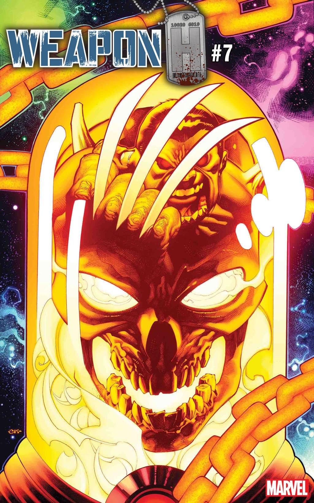 Космический Призрачный гонщик против вселенной Marvel. Правда, пока только навариативных обложках | Канобу - Изображение 6837