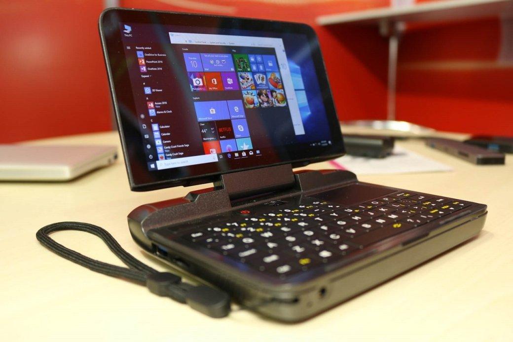 Китайцы выпустили GPD MicroPC — 6-дюймовый карманный Windows-компьютер за $300 | Канобу - Изображение 1