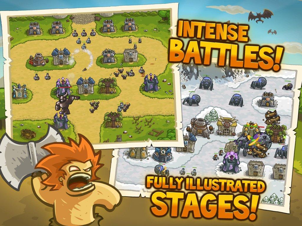 Kingdom Rush - один из лучших Tower Defens игр на IOs и Android. | Канобу - Изображение 1