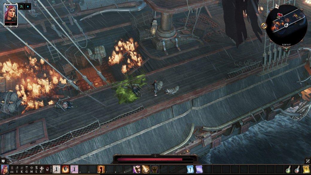 Объяснено. Как набрать второй уровень в Original Sin 2, не покидая стартового корабля. - Изображение 1