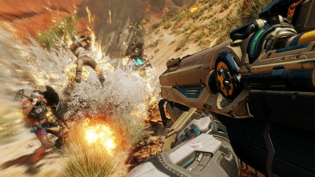 Взрывы, красоты пустошей имного крови вновом 10-минутном геймплее RAGE2   Канобу - Изображение 1