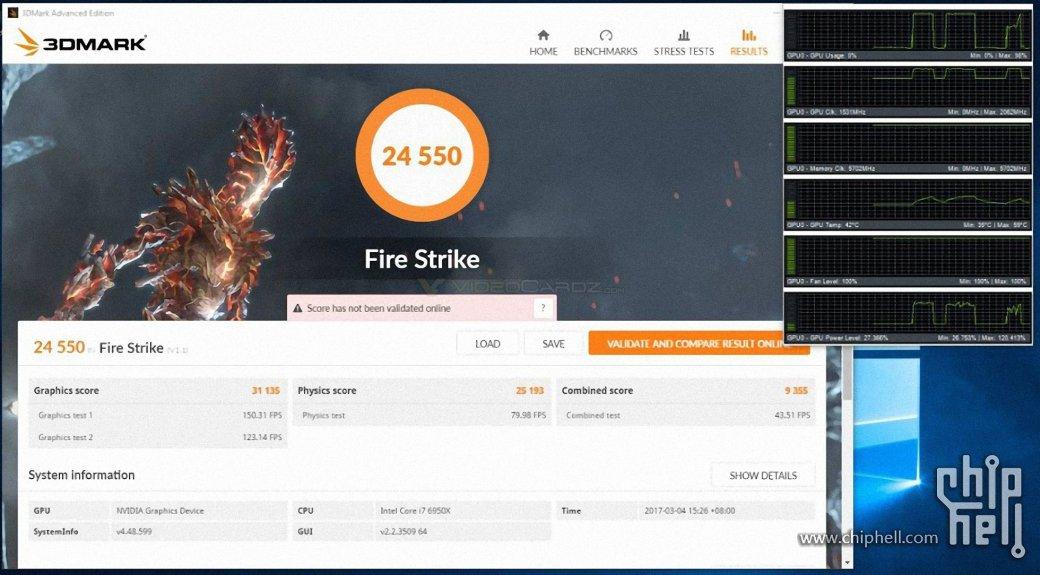 Разогнанный GeForce GTX 1080 Ti прошел первые тесты | Канобу - Изображение 101