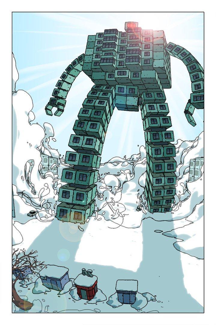 Русский комикс про роболарек против кайдзю изпанельных многоэтажек | Канобу - Изображение 7077