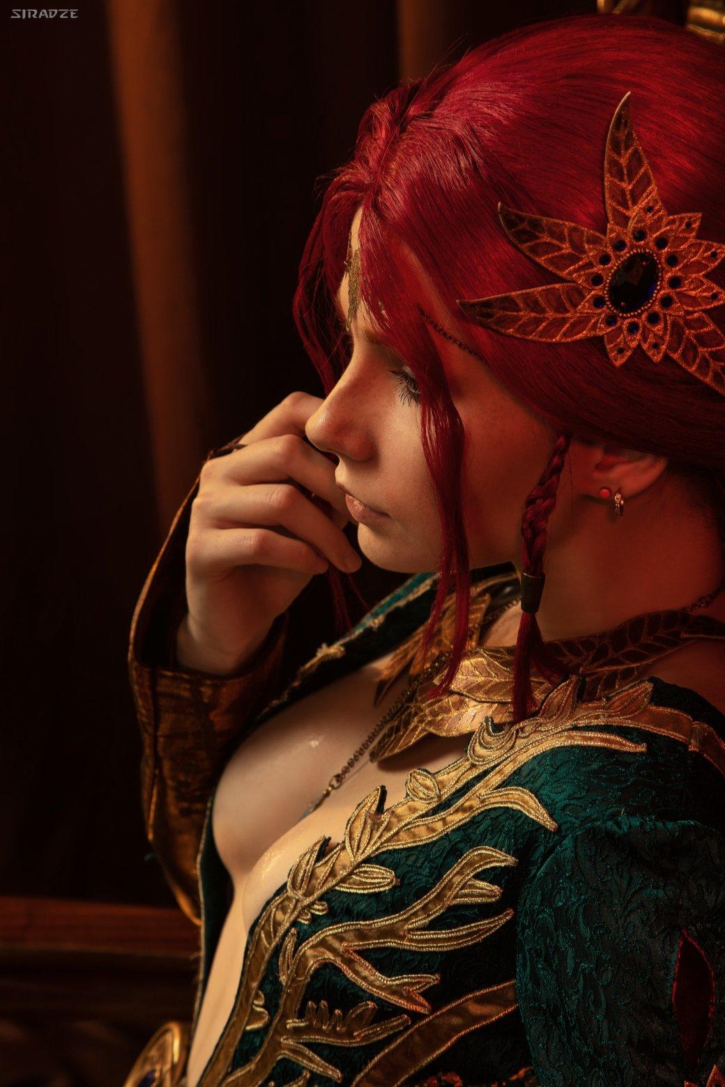 Отличный косплей чародейки Трисс Меригольд из«Ведьмака» | Канобу - Изображение 1162