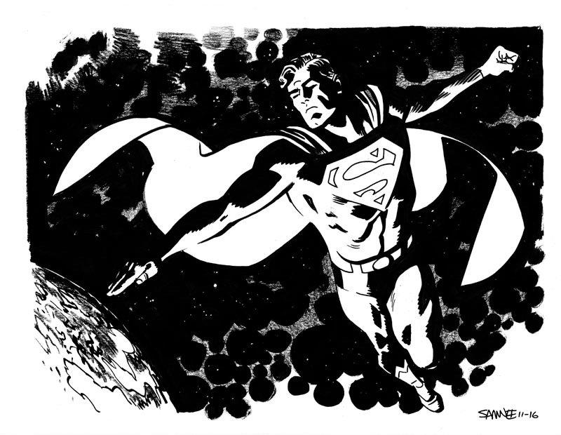 Супергерои Marvel и DC в рисунке Криса Сомни | Канобу - Изображение 8827
