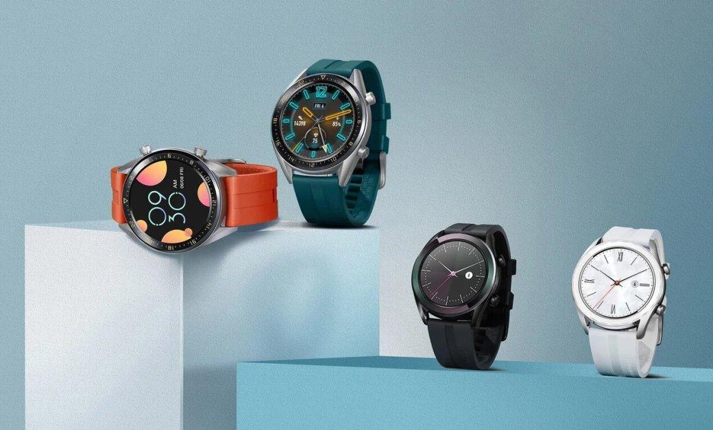 ВРоссии выходят смарт-часы Huawei Watch GTActive иElegant | Канобу - Изображение 0