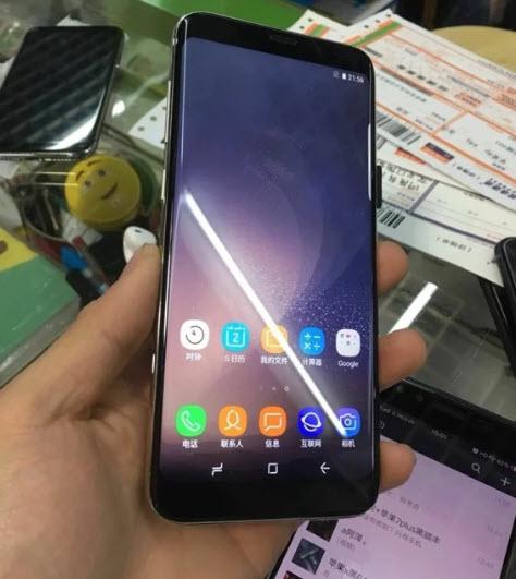 ВСети появились фотографии китайского клона Samsung Galaxy S9+. - Изображение 2