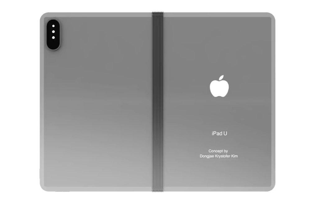 iPadU: концепт складного планшета Apple стройной основной камерой | Канобу - Изображение 7320