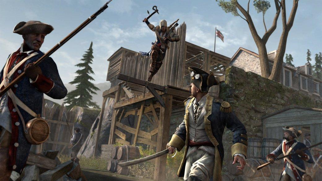 Гифка дня: немного помощи непомешает вAssassin's Creed III | Канобу - Изображение 1