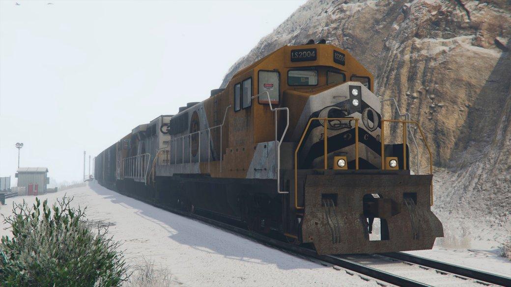 Гифка дня: поезд-призрак вGrand Theft Auto5 | Канобу - Изображение 1