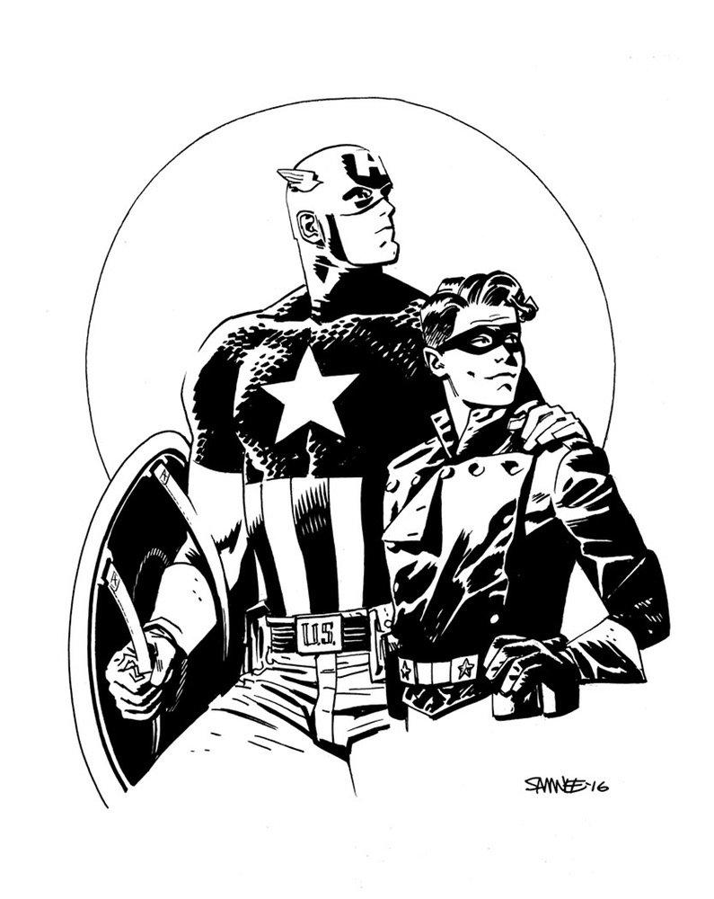 Супергерои Marvel и DC в рисунке Криса Сомни | Канобу - Изображение 8816