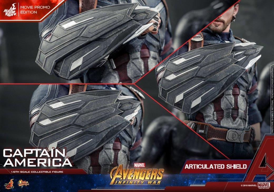 Взгляните нановую фигурку Капитана Америка из«Войны Бесконечности» отHot Toys. - Изображение 15