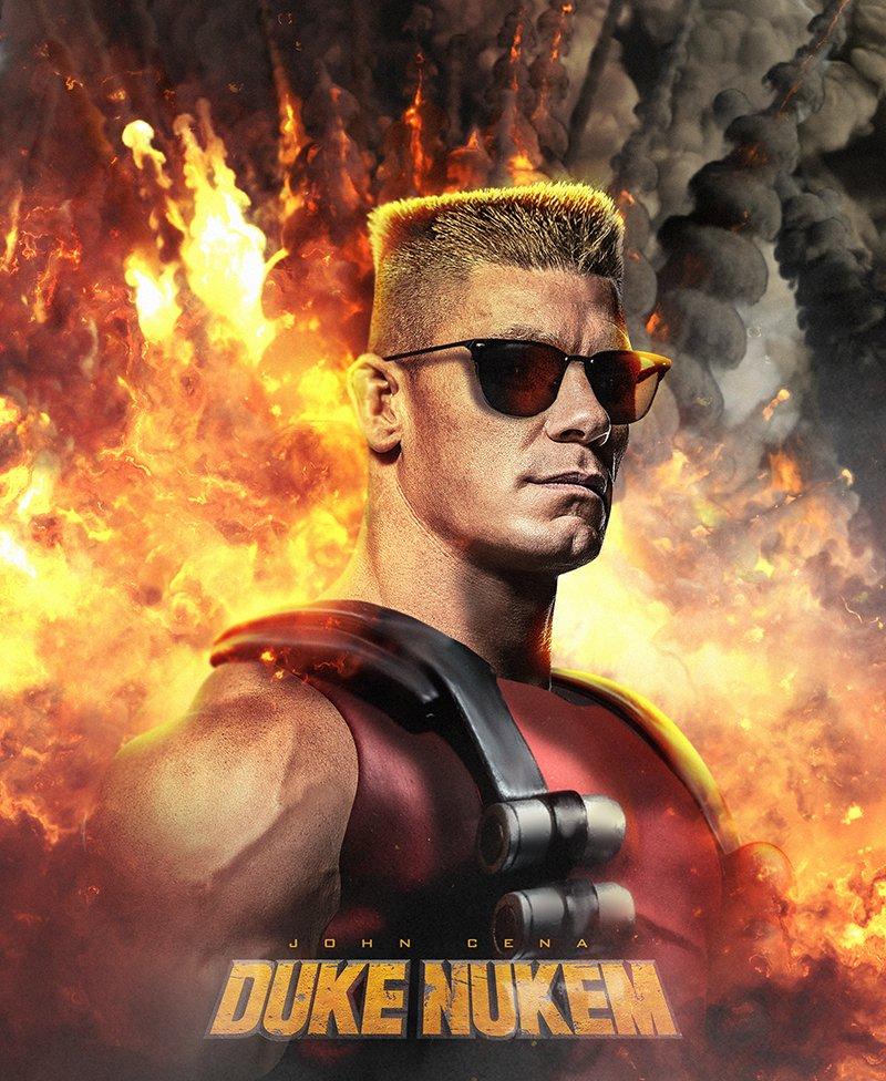 Джон Сина ведет переговоры наглавную роль вкиноадаптации Duke Nukem. - Изображение 2