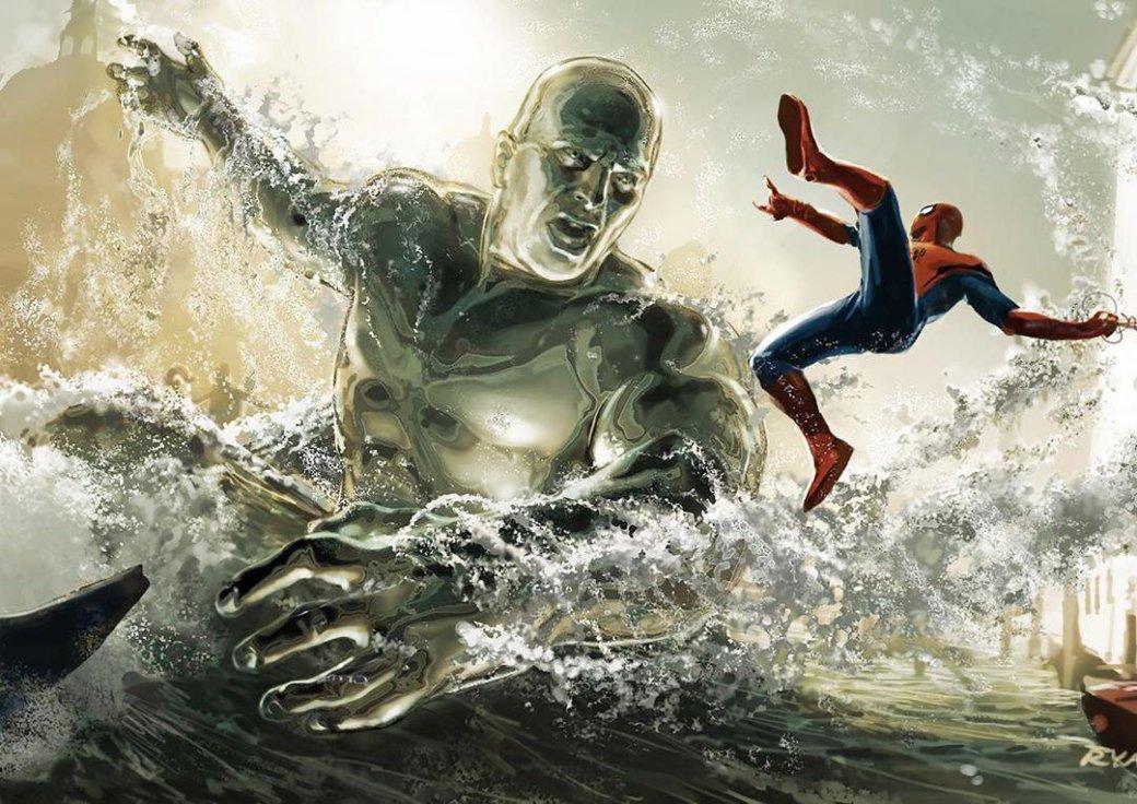 Человек-паук сражается ссовсем другим Гидроменом наконцепт-арте «Вдали отдома» | Канобу - Изображение 0