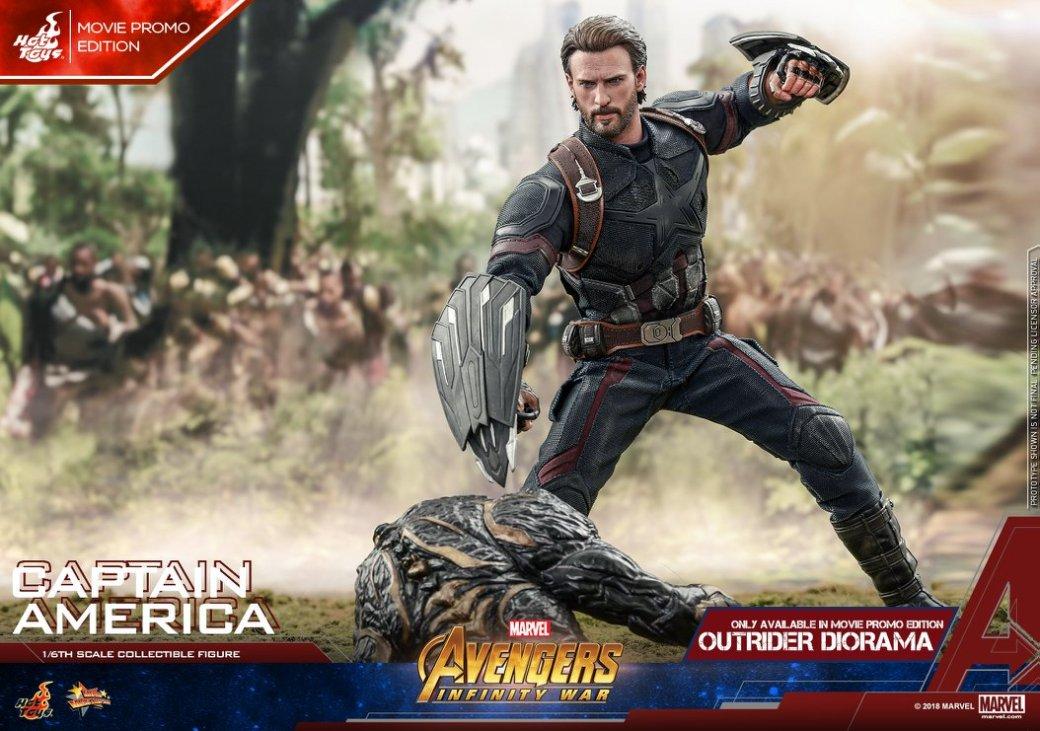 Взгляните нановую фигурку Капитана Америка из«Войны Бесконечности» отHot Toys. - Изображение 12