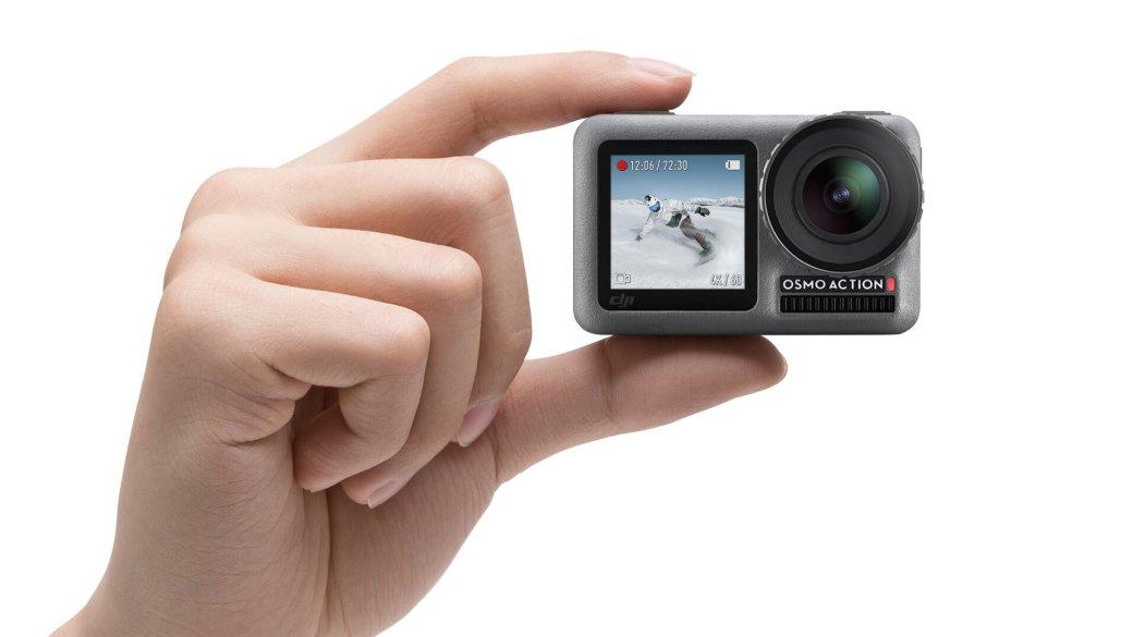 DJI Osmo Action: первая экшн-камера от известного производителя дронов | Канобу - Изображение 2