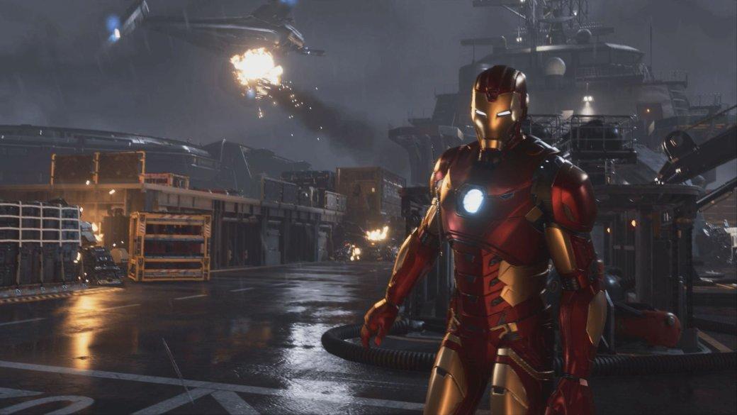В сеть утек геймплей за Железного человека, Тора и Халка из Marvel's Avengers [обновлено] | Канобу - Изображение 10585